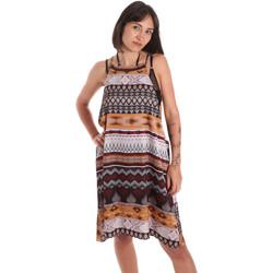 Textil Ženy Tuniky Me Fui M20-0081X1 Hnědý