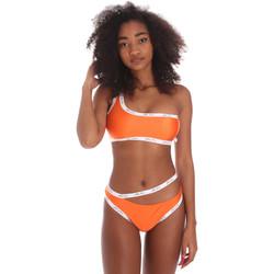 Textil Ženy jednodílné plavky Me Fui M20-0310AR Oranžový