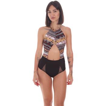 Textil Ženy jednodílné plavky Me Fui M20-0005X1 Černá