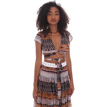 Textil Ženy Halenky / Blůzy Me Fui M20-0051X1 Hnědý