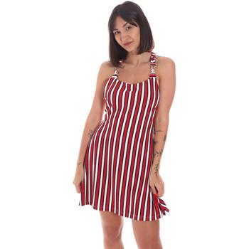 Textil Ženy Krátké šaty Me Fui M20-0364U Červené