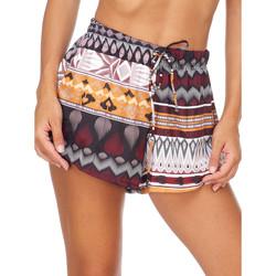 Textil Ženy Kraťasy / Bermudy Me Fui M20-0054X1 Hnědý