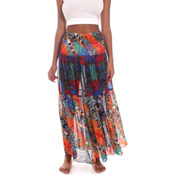 Textil Ženy Sukně Me Fui M20-0381U Modrý