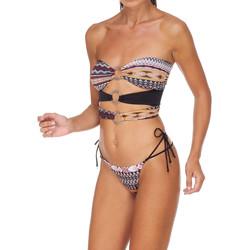Textil Ženy Bikini Me Fui M20-0003X1 Hnědý