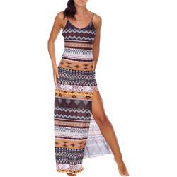 Textil Ženy Společenské šaty Me Fui M20-0080X1 Hnědý