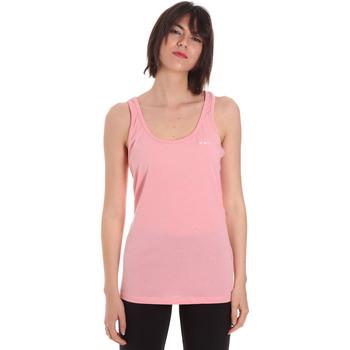 Textil Ženy Tílka / Trička bez rukávů  Diadora 102175885 Růžový