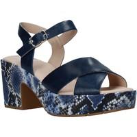 Boty Ženy Sandály CallagHan 28800 Modrý