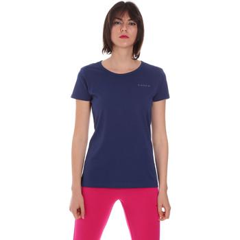 Textil Ženy Trička s krátkým rukávem Diadora 102175886 Modrý