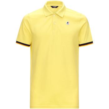 Textil Muži Polo s krátkými rukávy K-Way K008J50 Žlutá