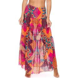 Textil Ženy Sukně F * * K  Růžový