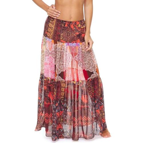 Textil Ženy Sukně F * * K  Červené