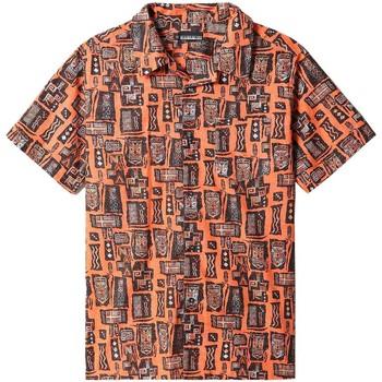 Textil Košile s krátkými rukávy Napapijri NP0A4F4S Oranžový