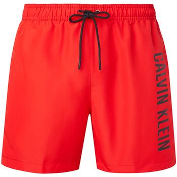 Textil Muži Kraťasy / Bermudy Calvin Klein Jeans KM0KM00570 Červené