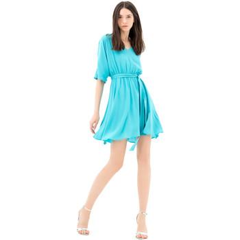 Textil Ženy Krátké šaty Fracomina FR21SD1024W42801 Modrý