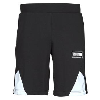 Textil Muži Kraťasy / Bermudy Puma RBL SHORTS Černá / Bílá