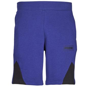Textil Muži Kraťasy / Bermudy Puma RBL SHORTS Modrá
