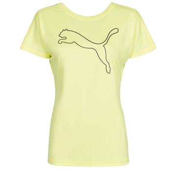 Textil Ženy Trička s krátkým rukávem Puma RECYCL JERSY CAT TEE Žlutá