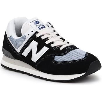 Boty Muži Nízké tenisky New Balance ML574HF2 black, grey, white