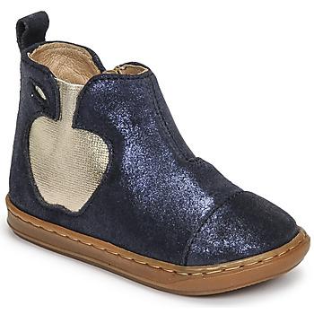 Boty Dívčí Kotníkové boty Shoo Pom BOUBA APPLE Modrá