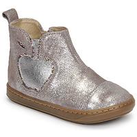Boty Dívčí Kotníkové boty Shoo Pom BOUBA NEW APPLE Modrá
