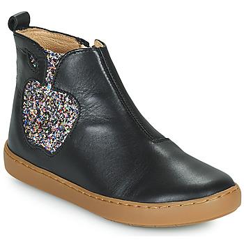 Boty Dívčí Kotníkové boty Shoo Pom PLAY APPLE Černá