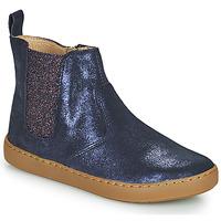 Boty Dívčí Kotníkové boty Shoo Pom PLAY CHELSEA Modrá