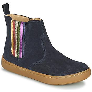 Boty Dívčí Kotníkové boty Shoo Pom PLAY NEW SHINE Modrá