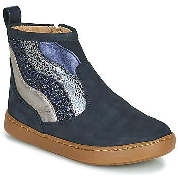 Boty Dívčí Kotníkové boty Shoo Pom PLAY WAVES Modrá