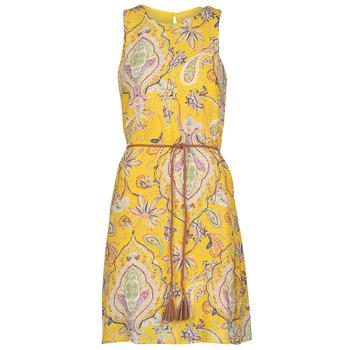 Textil Ženy Krátké šaty Desigual ADRIANA Žlutá