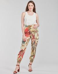 Textil Ženy Turecké kalhoty / Harémky Desigual TOUCHE Hnědá