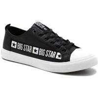 Boty Muži Nízké tenisky Big Star EE174069 Černé