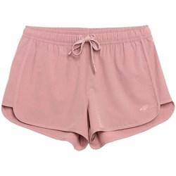 Textil Ženy Kraťasy / Bermudy 4F SKDT001 Růžové