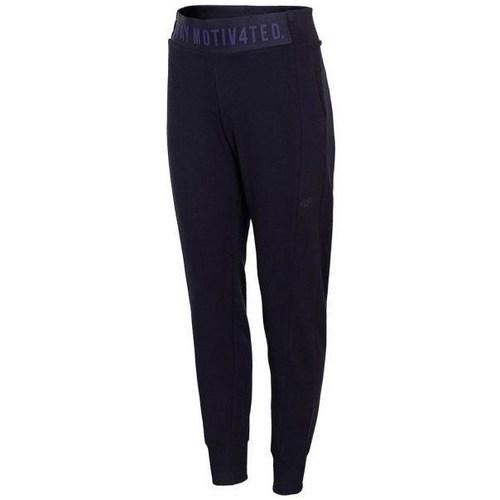 Textil Ženy Teplákové kalhoty 4F SPDD013 Tmavomodré