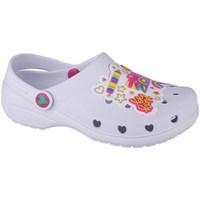 Boty Dívčí Pantofle Skechers Heart Charmer Photobomb Bílé
