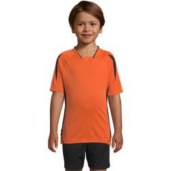 Textil Děti Trička s krátkým rukávem Sols Maracana - CAMISETA NIÑO MANGA CORTA Naranja