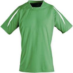 Textil Děti Trička s krátkým rukávem Sols Maracana - CAMISETA NIÑO MANGA CORTA Verde