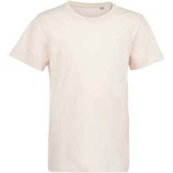Textil Děti Trička s krátkým rukávem Sols Camiseta de niño con cuello redondo Rosa