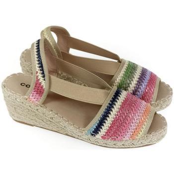 Boty Ženy Sandály Comer Dámske farebné sandále NUBA mix