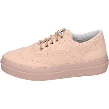 Boty Ženy Šněrovací polobotky  & Šněrovací společenská obuv Rucoline BH363 Růžová