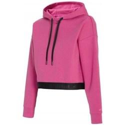 Textil Ženy Mikiny 4F BLD011 Růžové