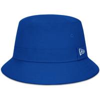 Textilní doplňky Muži Klobouky New-Era Ne essential bucket Modrá