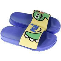 Boty Děti pantofle John-C Detské žlto-modré šľapky PLAY žltá