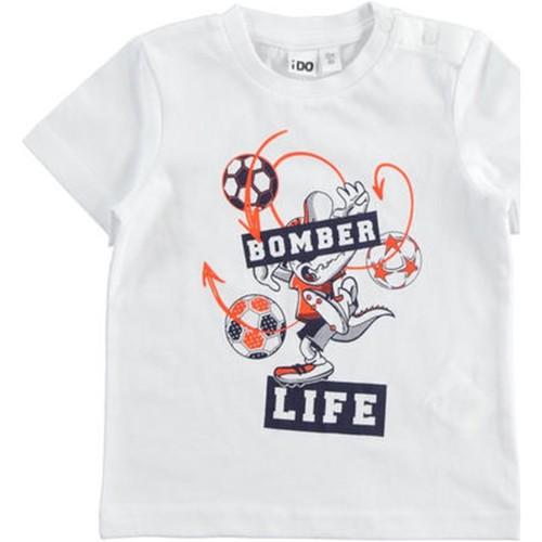 Textil Chlapecké Trička s krátkým rukávem Ido 42041 Bílá