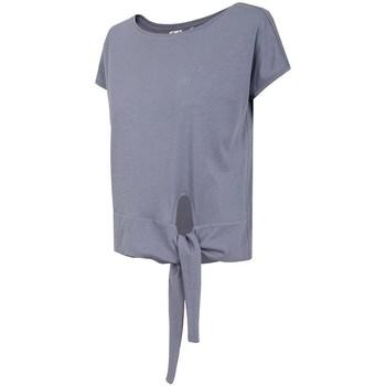 Textil Ženy Trička s krátkým rukávem 4F TSD023 Fialové