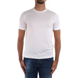 Textil Muži Trička s krátkým rukávem Cruciani CUJOSB G30 Bílá