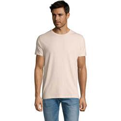Textil Muži Trička s krátkým rukávem Sols Martin camiseta de hombre Rosa