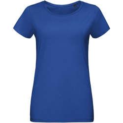 Textil Ženy Trička s krátkým rukávem Sols Martin camiseta de mujer Azul