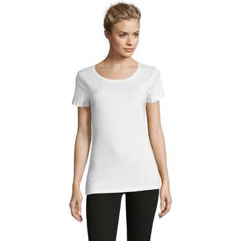 Textil Ženy Trička s krátkým rukávem Sols Martin camiseta de mujer Blanco