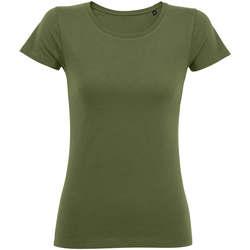 Textil Ženy Trička s krátkým rukávem Sols Martin camiseta de mujer Kaki