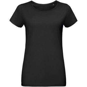 Textil Ženy Trička s krátkým rukávem Sols Martin camiseta de mujer Negro
